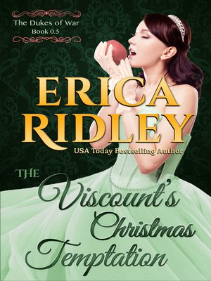 cover image of The Viscount's Christmas Temptation