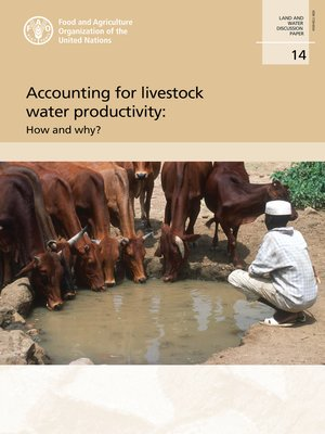cover image of Accounting for Livestock Water Productivity