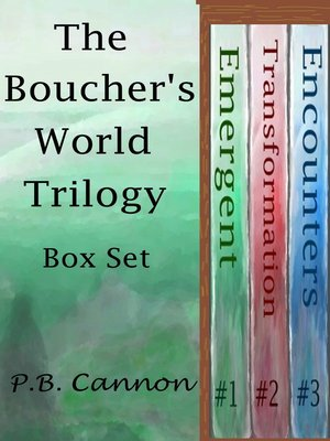 cover image of The Boucher's World Trilogy a Box Set