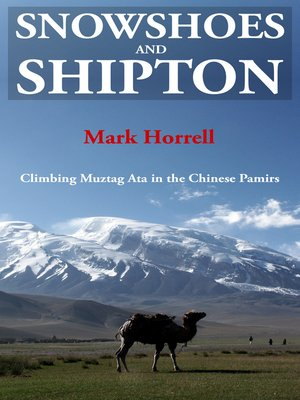 cover image of Snowshoes and Shipton