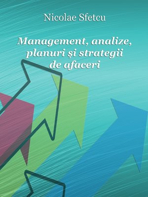 cover image of Management, analize, planuri și strategii de afaceri