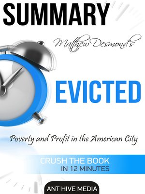 cover image of Matthew Desmond's EVICTED
