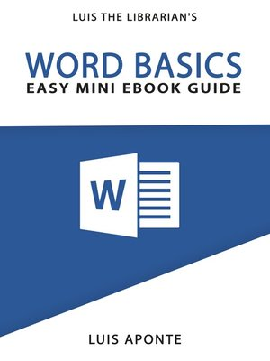 cover image of Word Basics