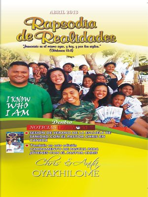 cover image of Rhapsody of Realities April 2013 Spanish Edition