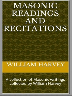 cover image of Masonic Readings and Recitations