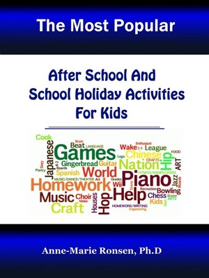 cover image of After School and School Holiday Activities For Kids