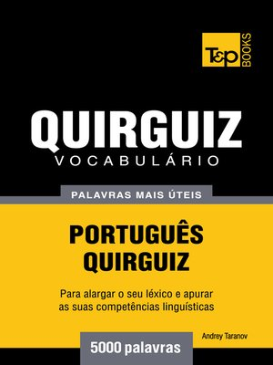 cover image of Vocabulário Português-Quirguiz