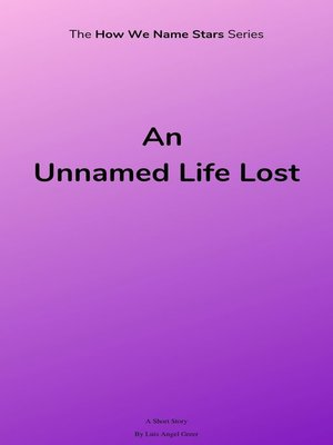 cover image of An Unnamed Life Lost