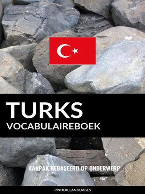 cover image of Turks vocabulaireboek