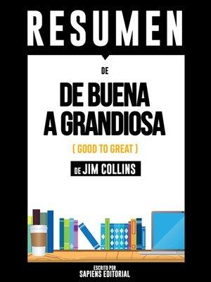 cover image of De Buena a Grandiosa (Good to Great)