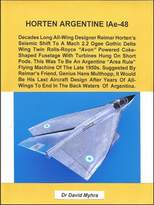 cover image of Horten Argentine IAe-48