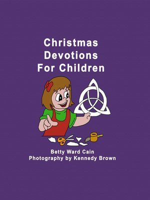 cover image of Christmas Devotions For Children