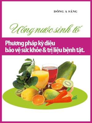 cover image of Uống nước sinh tố