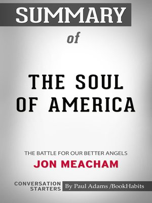 cover image of Summary of the Soul of America