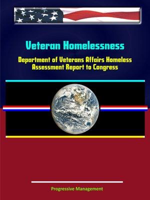 cover image of Veteran Homelessness