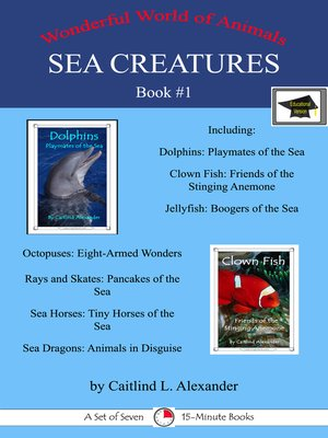 cover image of Sea Creatures Book #1