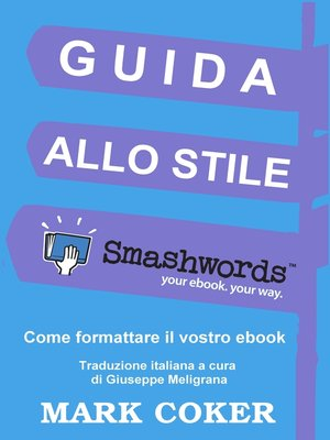 cover image of Guida allo Stile Smashwords