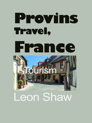 cover image of Provins Travel, France