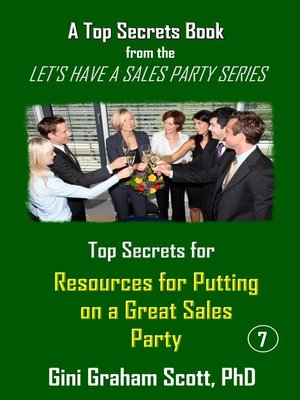 cover image of Top Secrets and Resources for Putting on a Great Sales Party