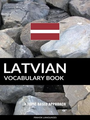 cover image of Latvian Vocabulary Book