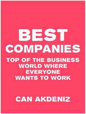 cover image of Best Companies
