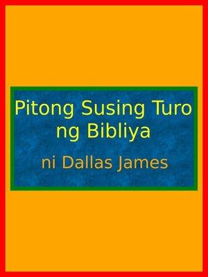 cover image of Pitong Susing Turo ng Bibliya