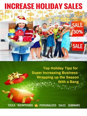 cover image of How to Increase Holiday Sales and Wrap Up the Season with a Bang
