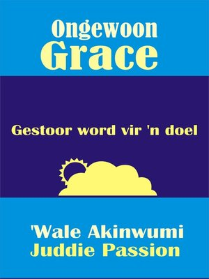 cover image of Ongewoon Grace