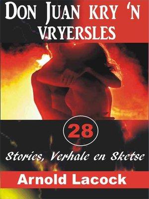 cover image of Don Juan kry 'n Vryersles