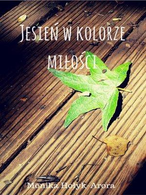 cover image of Jesień w kolorze miłości