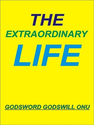 cover image of The Extraordinary Life