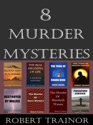 cover image of 8 Murder Mysteries