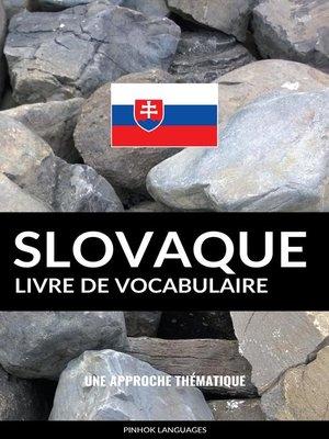 cover image of Livre de vocabulaire slovaque