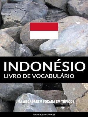 cover image of Livro de Vocabulário Indonésio