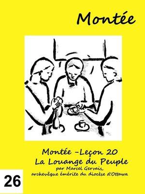 cover image of Montée -Leçon 26 À Jérusalem