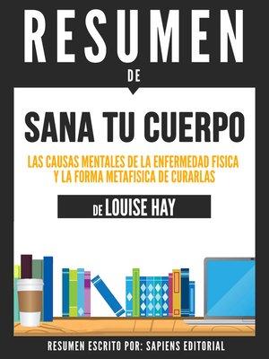 cover image of Sana Tu Cuerpo