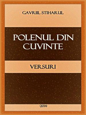 cover image of Polenul din cuvinte