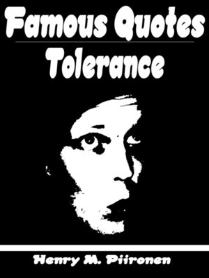 cover image of Famous Quotes on Tolerance