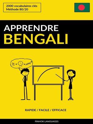 cover image of Apprendre le bengali