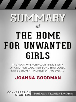 cover image of Summary of the Home for Unwanted Girls