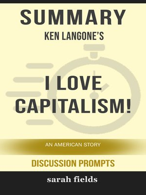 cover image of Summary of I Love Capitalism!