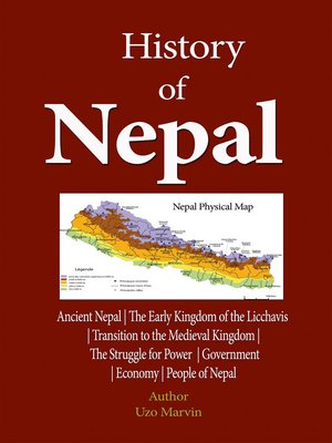 cover image of History of Nepal,