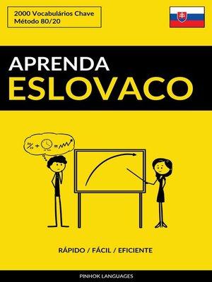cover image of Aprenda Eslovaco
