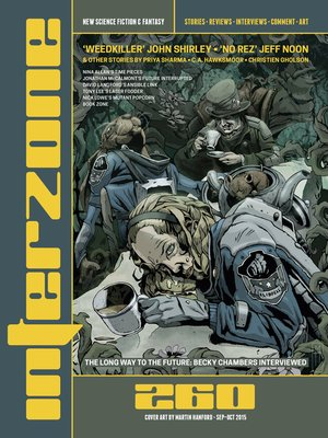 cover image of Interzone #260 Sep-Oct 2015