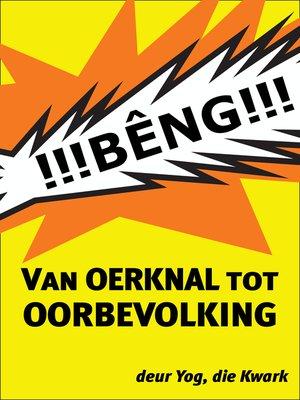 cover image of Van Oerknal tot Oorbevolking