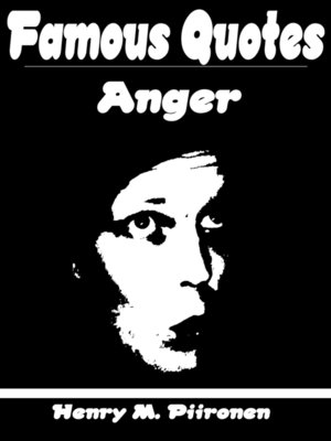 cover image of Famous Quotes on Anger
