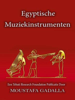 cover image of Egyptische Muziekinstrumenten
