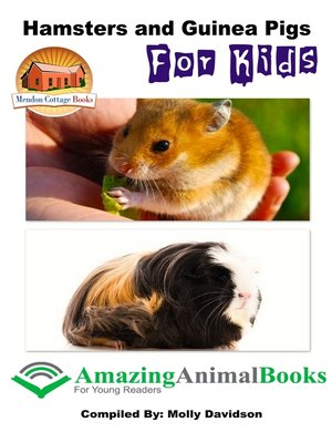 cover image of Hamsters and Guinea Pigs for Kids