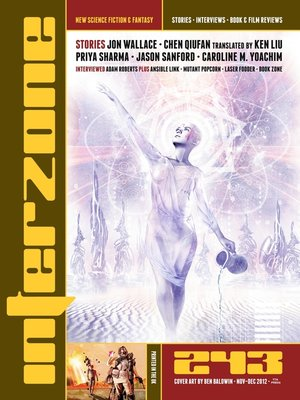 cover image of Interzone 243 Nov