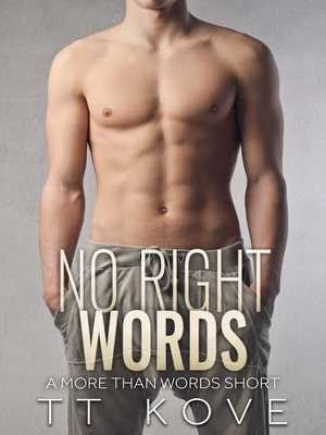 cover image of No Right Words